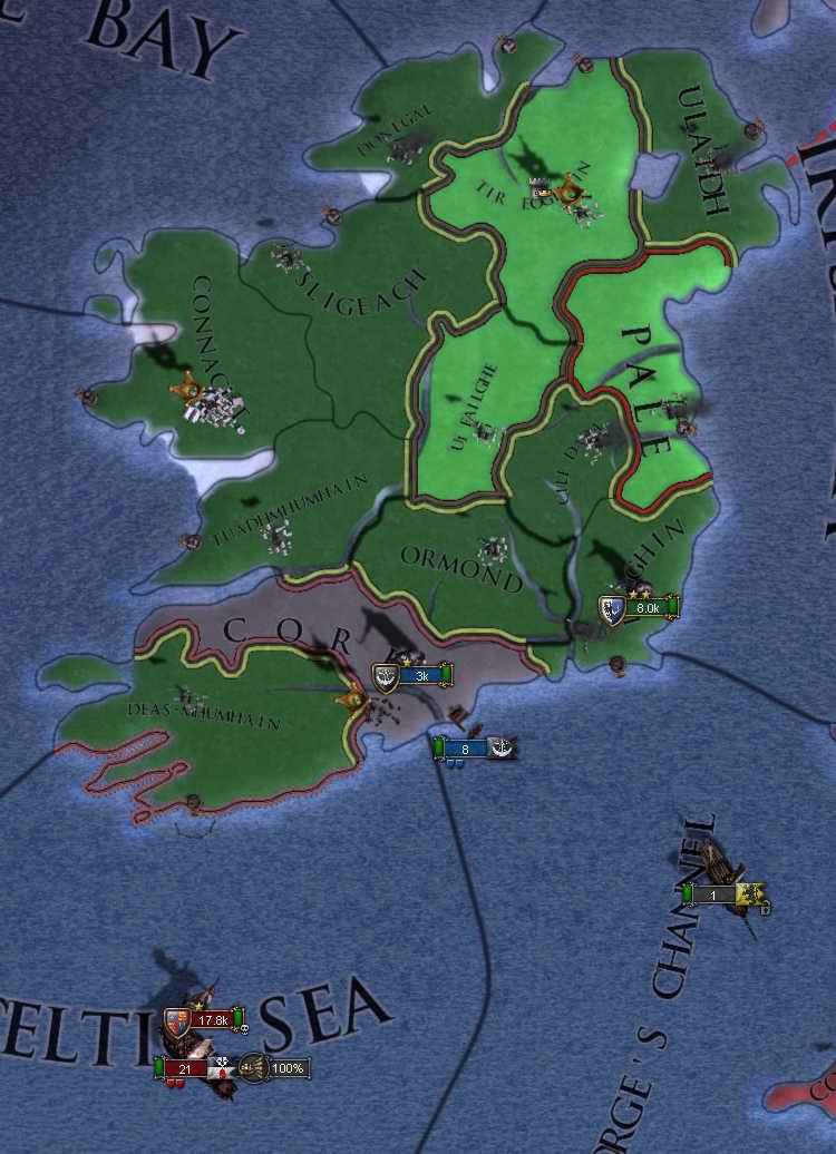 Europa Universalis IV: Clanricarde (Part II)